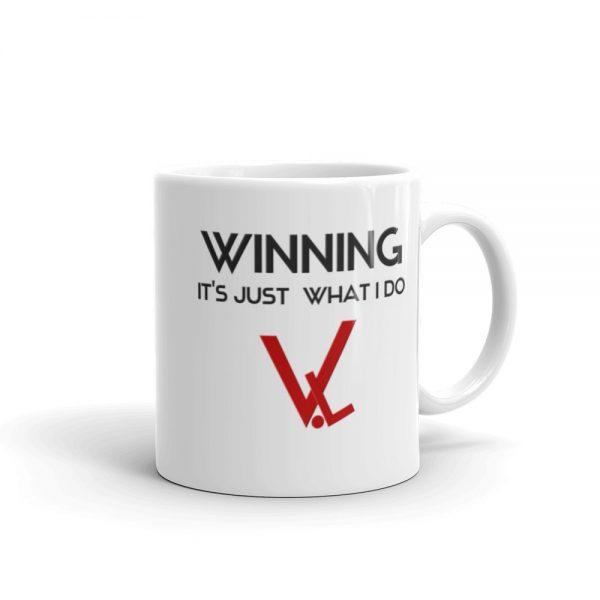 Winning – It's Just What I Do – Velocity Living – Mug