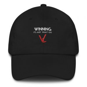 Winning – It's Just What I Do – Velocity Living – Dad hat