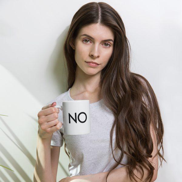 NO! The Power of Saying NO – Coffee Mug Version 2