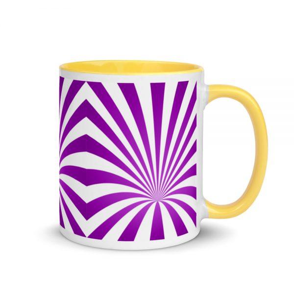 Purple Vortex – Black or Yellow Inside